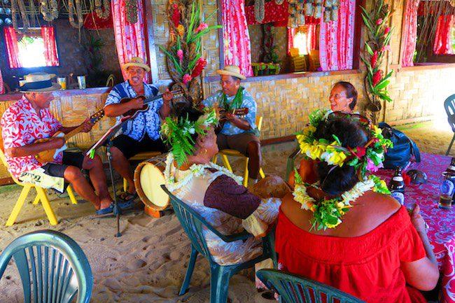 Chez Tara maa tahiti sunday feast Huahine Island French Polynesia