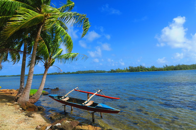Lake Maeva Huahine Island French Polynesia