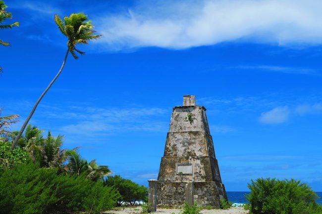 Phare de Taputavaka Lighthouse Fakarava Atoll French Polynesia