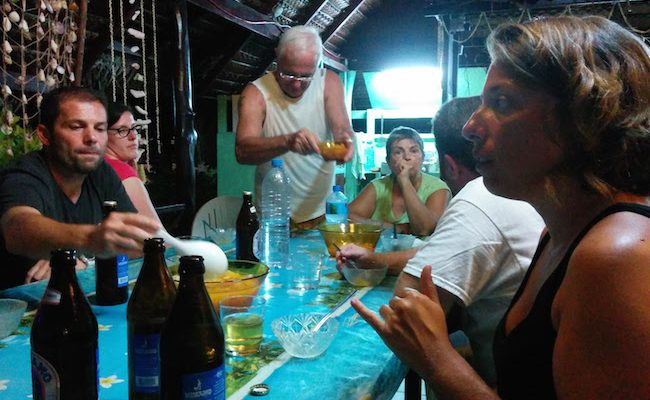 Relaid Marama BBQ dinner Fakarava Atoll French Polynesia