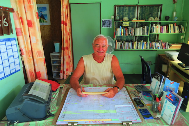 Relais Marama Fakarava Atoll French Polynesia Jacques the owner