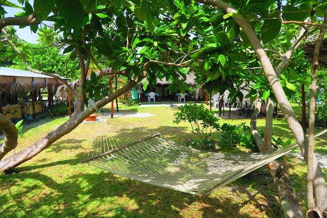 Relais Marama Fakarava Atoll French Polynesia hammock