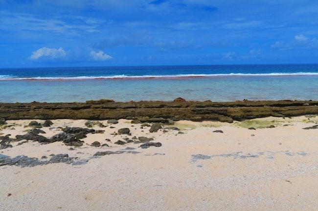 Relais Marama beach Fakarava Atoll French Polynesia
