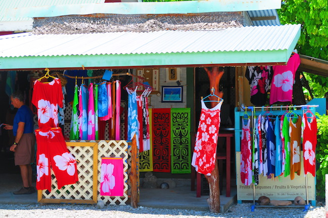 Rotoava Village boutique Fakarava Atoll French Polynesia