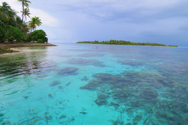 Tumakohua Pass Tetamanu Fakarava Atoll French Polynesia