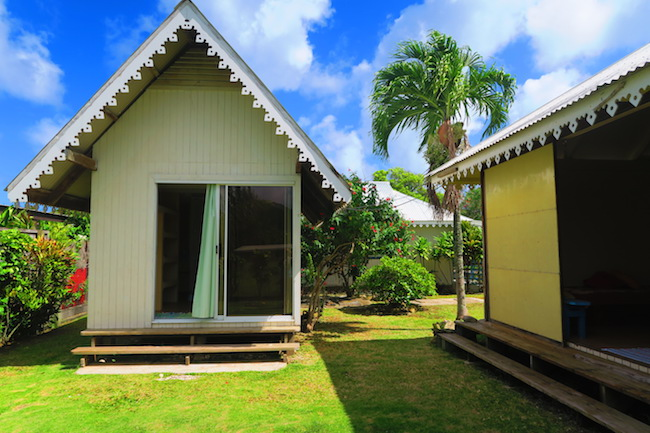 bungalow in Fare Huahine Island French Polynesia