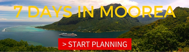 7 DAYS IN MOOREA itinerary