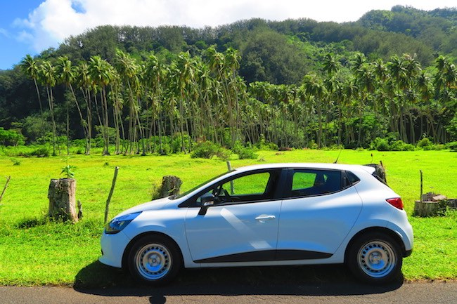 Avis pacific car Moorea French Polynesia