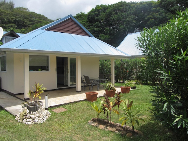 Bungalow for rent in Moorea French Polynesia