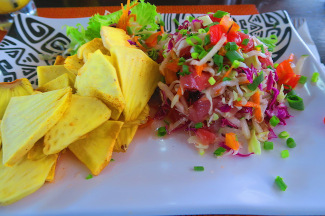 Cafe Maeva Papeete Market - Tahiti French Polynesia