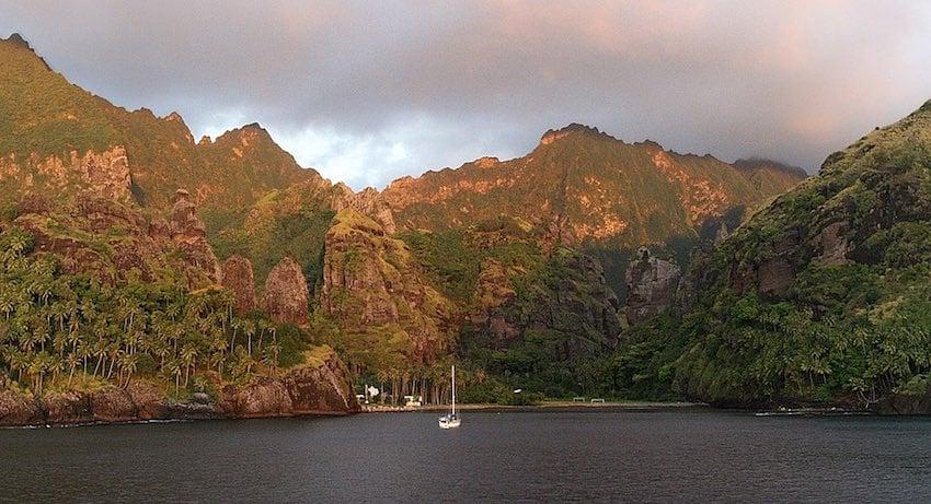 Fatu Hiva Marquesas Islands French Polynesia - Bay of Virgins