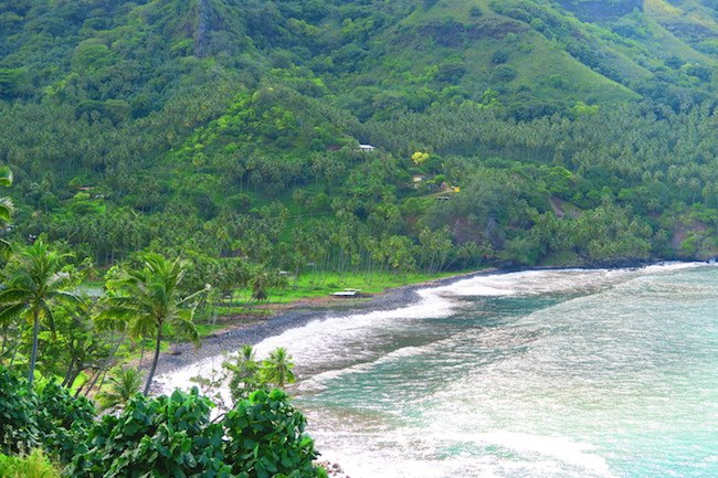 Hanapaaoa Bay hiva oa marquesas islands