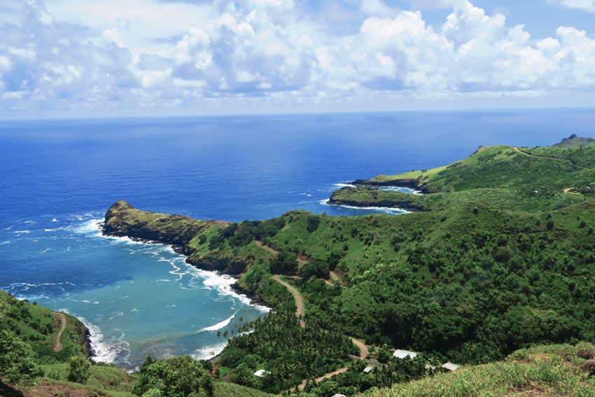 Hiva Oa Marquesas Islands French Polynesia - remote bays