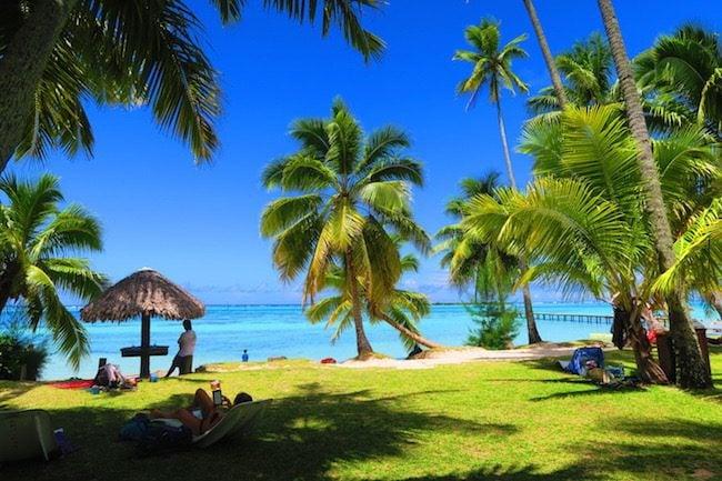 Hotel les Tipaniers Moorea French Polynesia