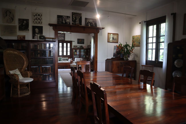 James Norman Hall Museum - Tahiti French Polynesia 4