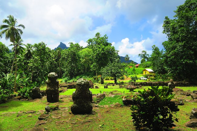 Lipona Archaeological Site hiva oa marquesas islands