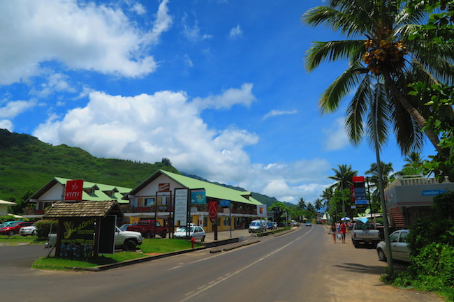 Maharepa Village Moorea French Polynesia