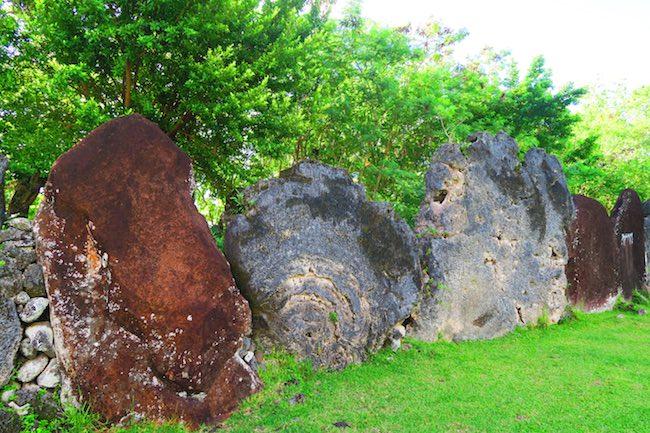 Marae Tainuu Raiatea French Polynesia