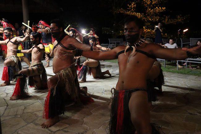 Marquesas show - Tahiti Pearl Beach Resort French Polynesia