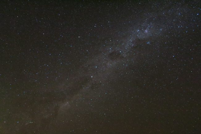 Milky Way in night sky - Maupiti French Polynesia