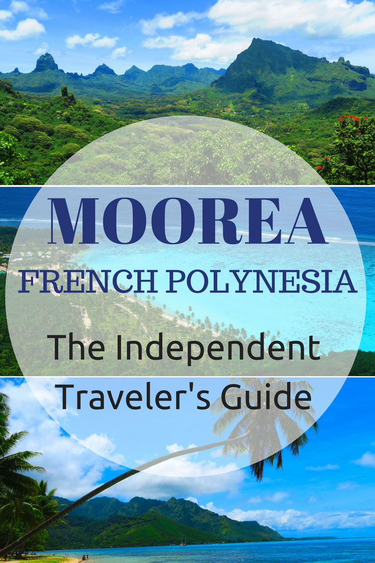 Moorea French Polynesia Travel Guide - Pin