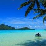 Motu Auira Maupiti French Polynesia - main island