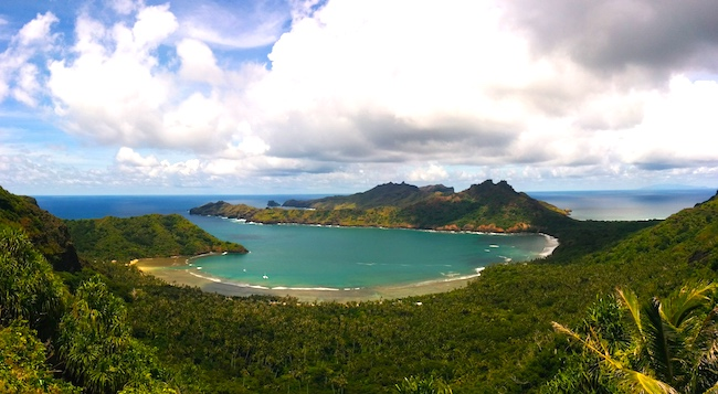 Nuku Hiva travel guide panoramic view anaho bay