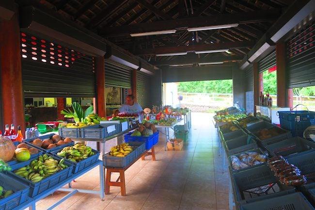 Nuku hiva Fruit & Vegetable Market