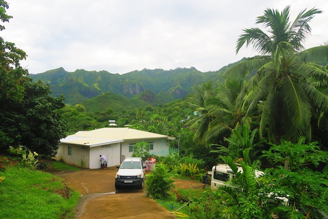 Pension Koku'u nuku hiva - marquesas islands - view