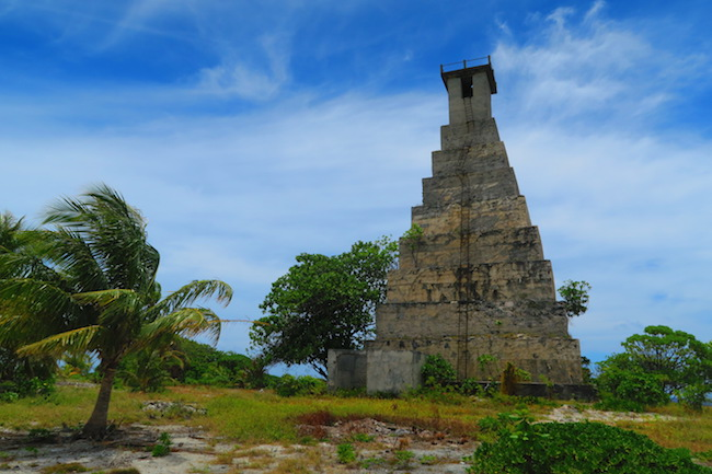 Phare de Topaka Lighthouse fakarava french polynesia