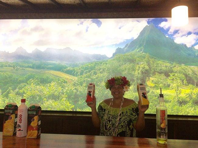 Rotui Manutea Factory Moorea French Polynesia