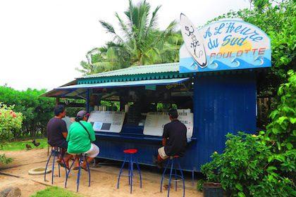 Roulotte a l'Heure de Sud Moorea French Polynesia
