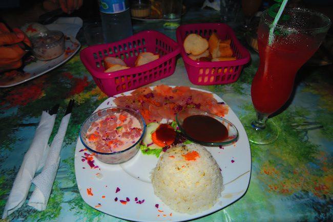 Snack Chez Elda fakarava french polynesia