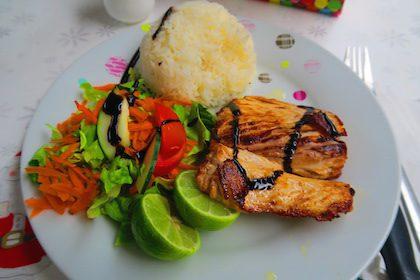Snack La Paillote Moorea French Polynesia