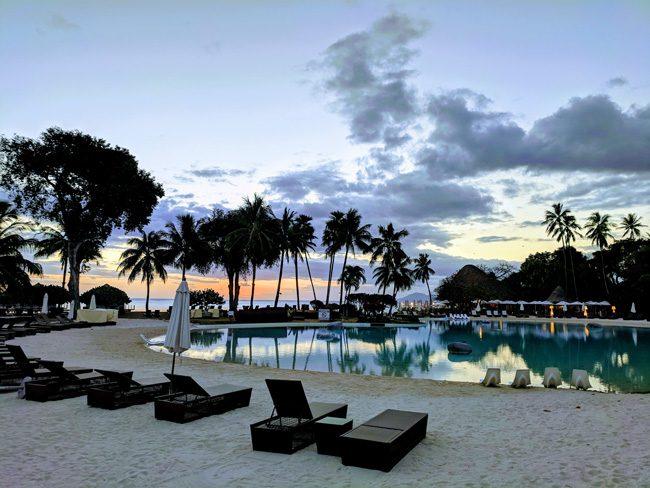 Sofitel Hotel Tahiti Ia Ora Beach Resort - Sunset - French Polynesia