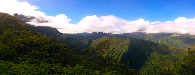 Tahiti Travel Guide - mount aorai panoramic view