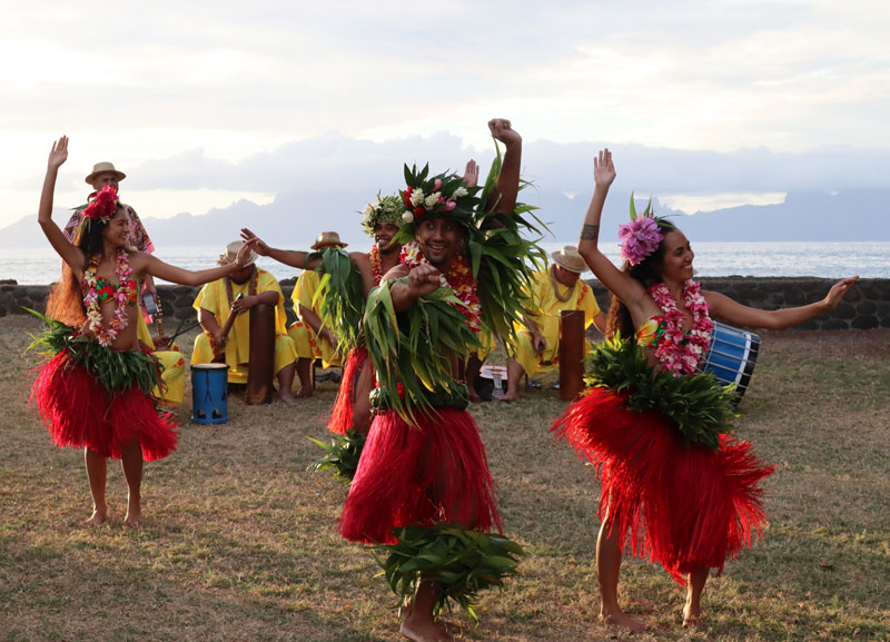 Tahitian Dancing - French Polynesia