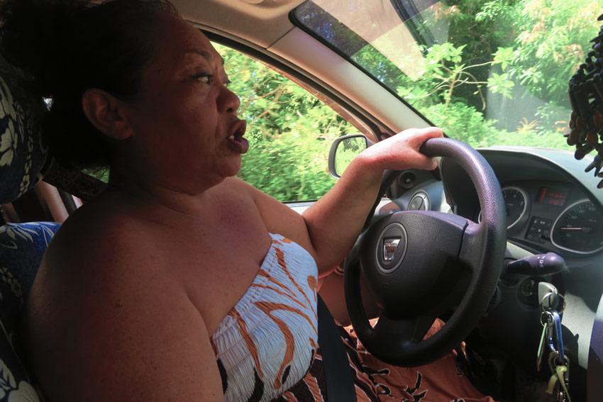 Tania Amaru Pension Kanahau Hiva Oa French Polynesia