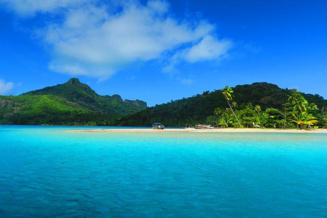 Tereia Tropical Beach - Maupiti French Polynesia