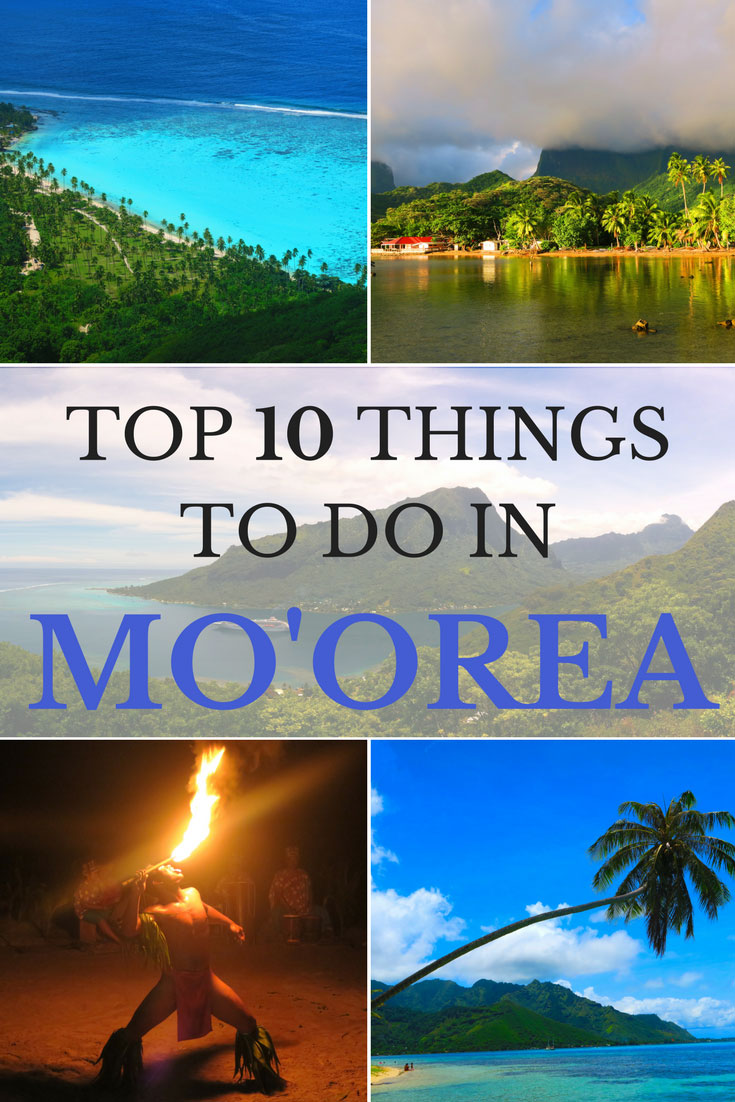 Top Things to do in Moorea French Polynesia - Pin