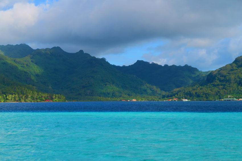 View of Tahaa French Polynesia