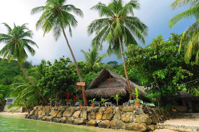 chez tara restuarant huahine island french polynesia