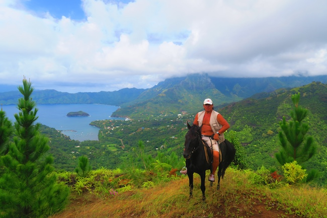 horseback riding Hamau Ranch Paco - hiva oa marquesas islands