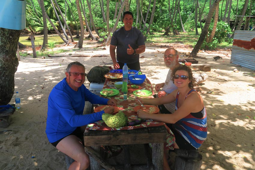 tahuata island day trip from hiva oa - marquesas island french polynesia - picnic lunch