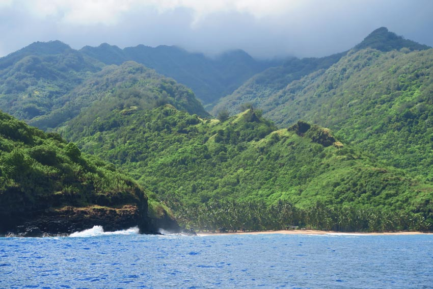 tahuata island day trip from hiva oa - marquesas island french polynesia - remote beach