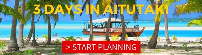 3 DAYS IN AITUTAKI sample itinerary