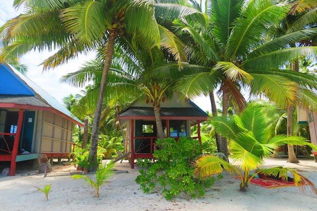 Akaiami Paradise aitutaki lagoon cook islands bungalow