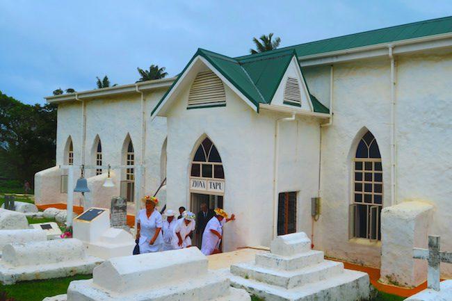 Arutanga CICC sunday service aitutaki cook islands