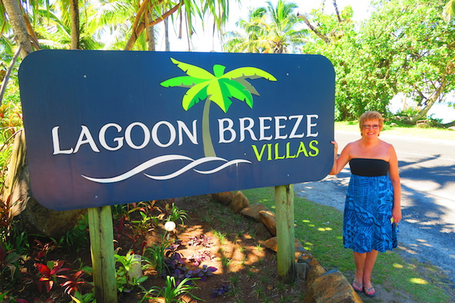 Lagoon Breeze Villas Rarotonga - debbie