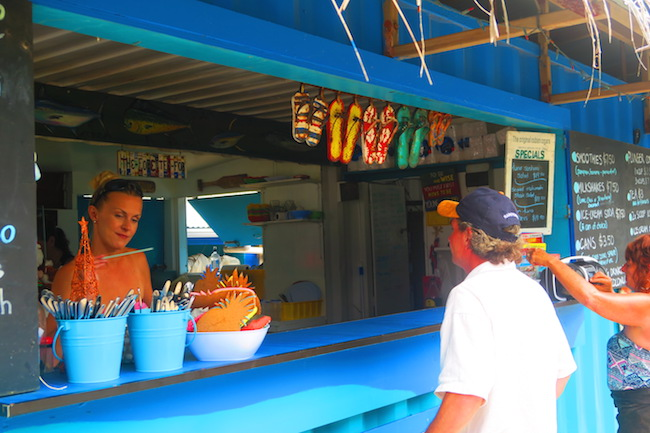 Mooring Fish Cafe Rarotonga Cook Islands